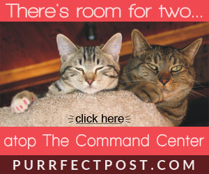 There's room for two atop the Command Center Deluxe