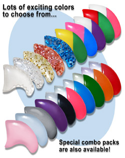 Softpaws come in a lot of exciting colors and color combinations.